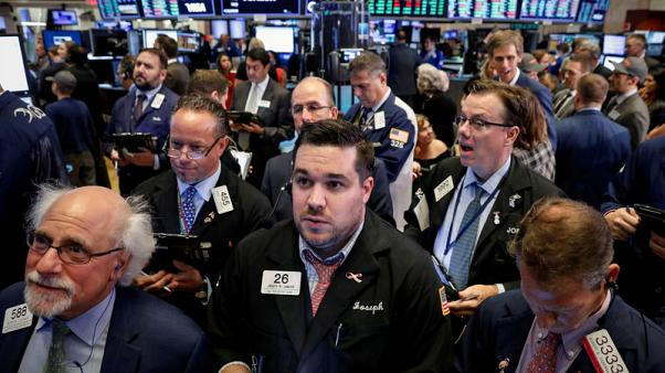 Global stock markets fall on trade war pessimism; oil rallies
