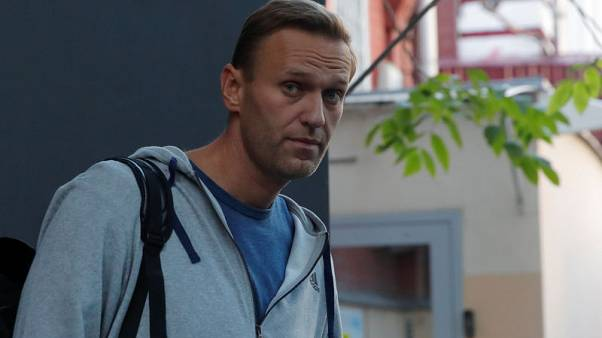 Russian opposition leader Navalny detained upon jail release - associate