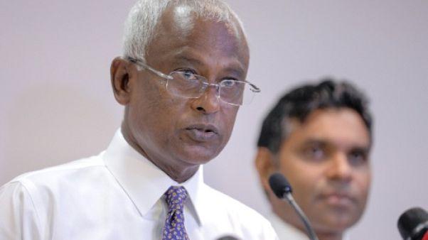 Présidentielle aux Maldives: le gouvernement reconnaît la victoire de l'opposition