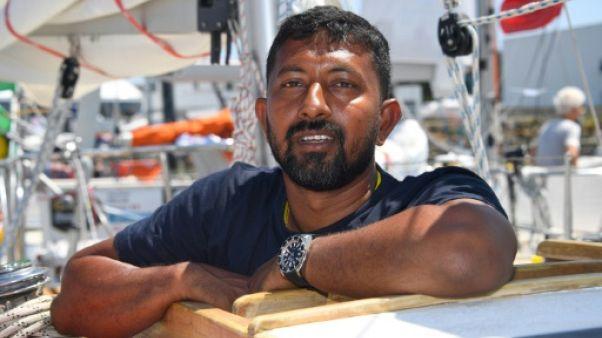 Golden Globe Race: le skipper indien Abhilash Tomy secouru