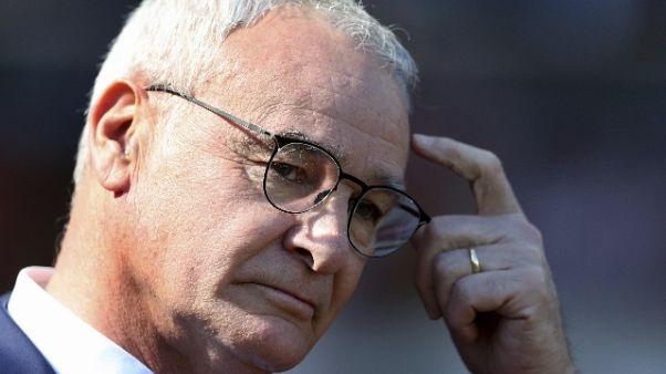 Ranieri, la Roma ha ceduto spina dorsale