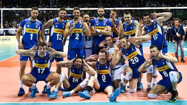 Pallavolo: l'Italia con Serbia e Polonia