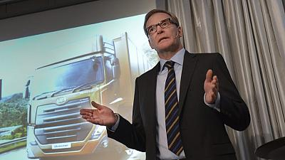 Volvo halts Iran truck assembly due to U.S. sanctions