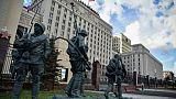 Le ministère russe de la Défense, photographié le 18 septembre 2018.