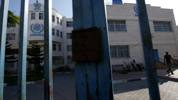 Gaza: grève des employés de l'agence de l'ONU pour les réfugiés palestiniens