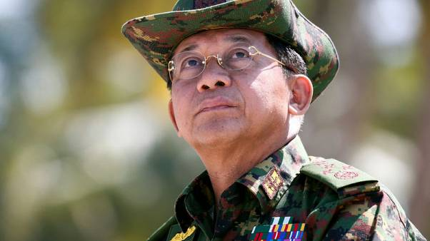 Myanmar army chief says 'no right to interfere' as U.N. weighs Rohingya crisis
