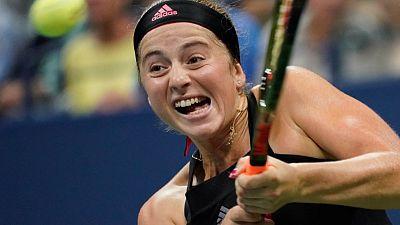 Gavrilova beats Ostapenko to reach Wuhan second round