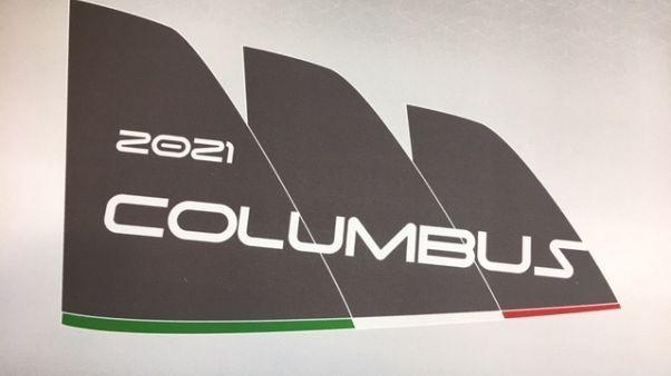 Vela, svelato logo Columbus 2021