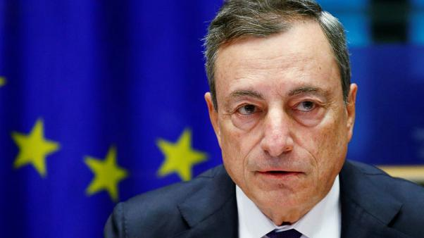 Inflation recovery conditional on low rates through summer - ECB's Draghi