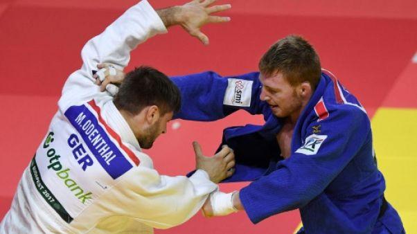 Mondiaux de judo: Clerget (-90 kg) en bronze, son premier podium mondial