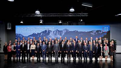 Euro zone ministers seek easier access to precautionary ESM loans