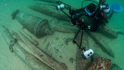 400-year-old shipwreck 'discovery of decade' for Portugal