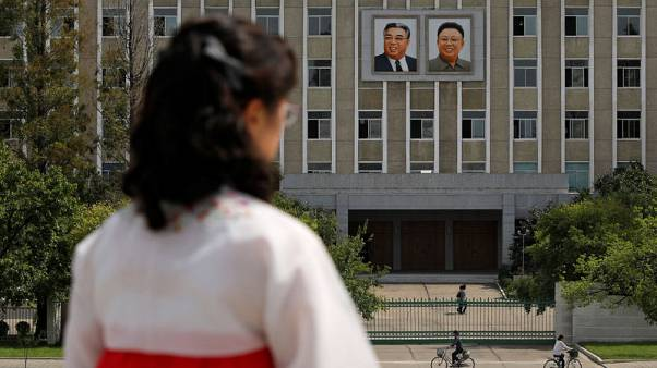 Portraits of a dynasty - North Korea's ever-present Kims