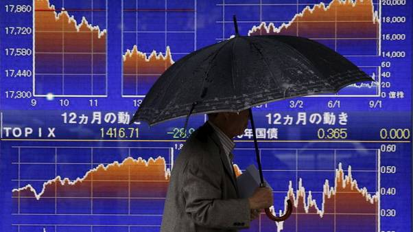 Global stocks pressured as U.S.-China trade fight revives growth fears; oil elevated