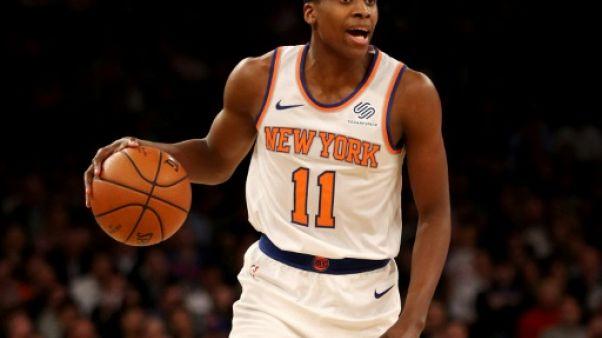 """NBA: Ntilikina(New York Knicks) veut """"arrêter de trop réfléchir"""""""