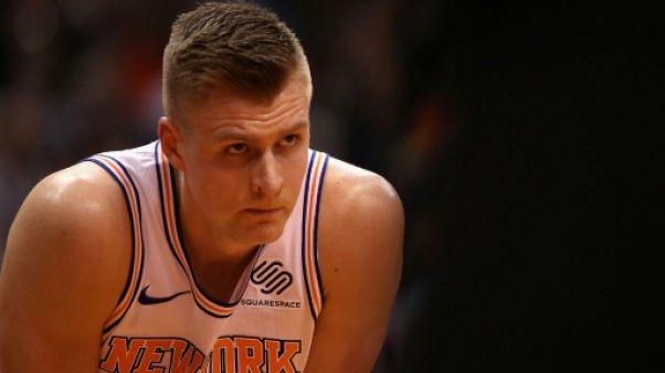 NBA: les New York Knicks n'ont pas encore de date pour le retour de Porzingis