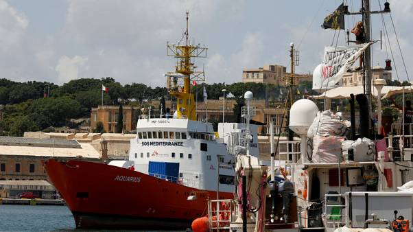 Portugal, Spain, France agree to take in Aquarius migrants