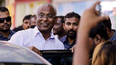 China congratulates new Maldives president on election win