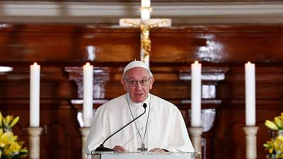 Outrage over Church's handling of sexual abuse scandals justified, pope says