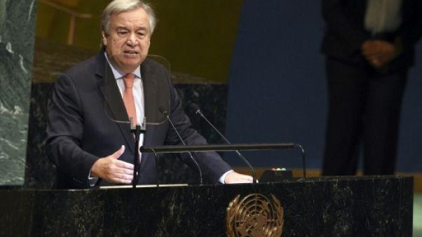"""Guterres déplore """"un monde de plus en plus chaotique"""" en ouvrant l'AG de l'ONU"""