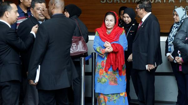 Wife of former Malaysian PM Najib to be questioned by anti-graft agency