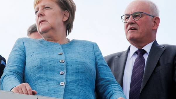 Blow to Merkel as ally Kauder loses senior party job