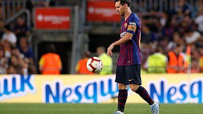 Barca coach Valverde says Messi the best despite Modric award