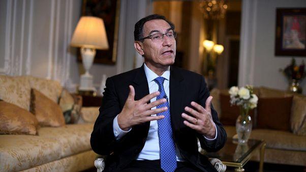 Peru wants no military solution on Venezuela - president