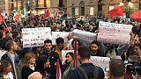 Migliaia a manifestazione antifascista