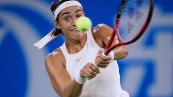 Tennis: Garcia chute d'entrée à Wuhan et perd gros
