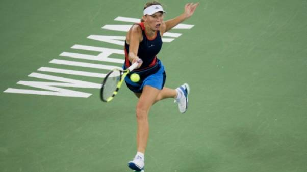 Tennis: Wozniacki et Kerber sans souci, Halep battue d'entrée à Wuhan