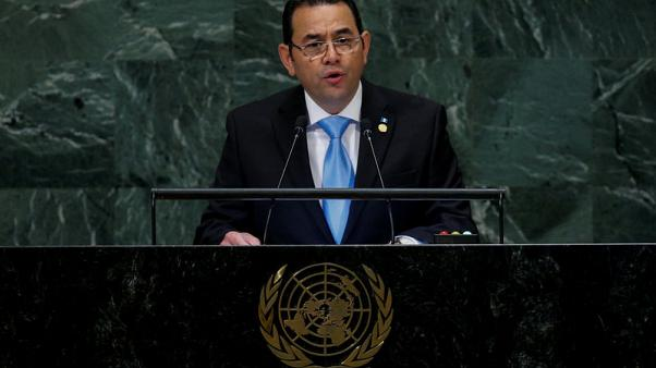 Guatemala's president says U.N. anti-graft body is threat to peace