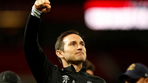 Proud Lampard revels in win over mentor Mourinho
