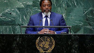 At U.N., Congo's Kabila vows 'peaceful, credible' elections