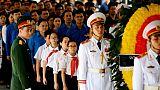 Des centaines de personnes rendent hommage au président vietnamien décédé