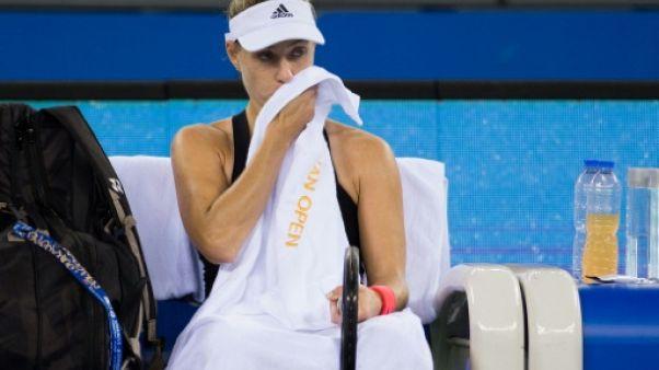 Tennis: Kerber et Kvitova battues, l'hécatombe continue à Wuhan