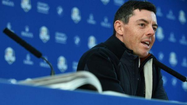 Ryder Cup: la force de l'équipe européenne? Sa cohésion, assure McIlroy