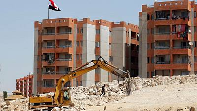 Demolition on the Nile puts squeeze on two Cairo districts