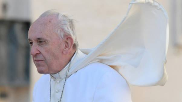 Le pape François arrivant sur la place Saint-Pierre, le 26 septembre 2018