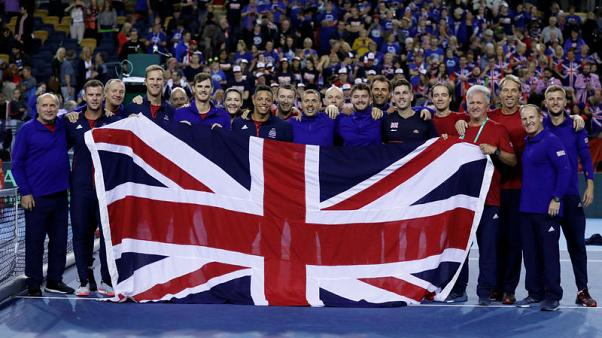 GB, Argentina given wild cards for 2019 Davis Cup finals