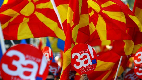 Eyeing EU, NATO, Macedonians set for referendum on changing state's name