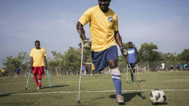 En Haïti, le foot pour amputés est source de fierté