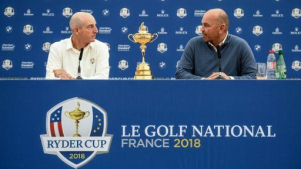 Ryder Cup: la pression monte pour les capitaines
