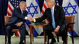 Trump says he wants two-state solution for Mideast conflict