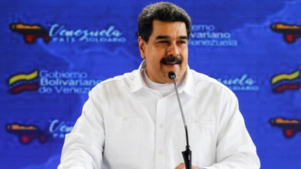 Trump open to meeting Venezuela's Maduro, says all options on table