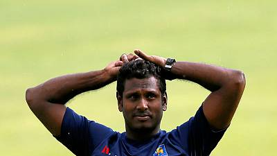 Mathews dropped from Sri Lanka's one-day squad to face England