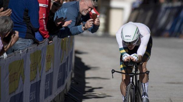 Mondiali ciclismo:Dennis oro nella crono
