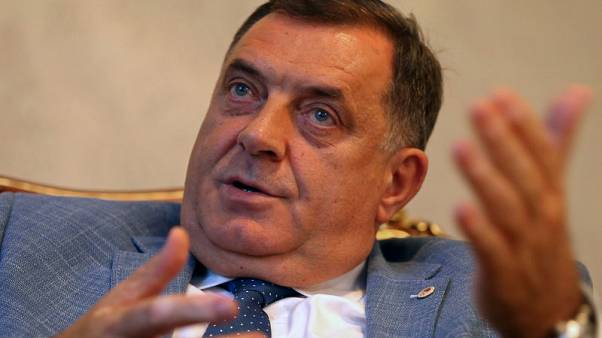 Bosnian Serb leader drops secessionist rhetoric ahead of vote