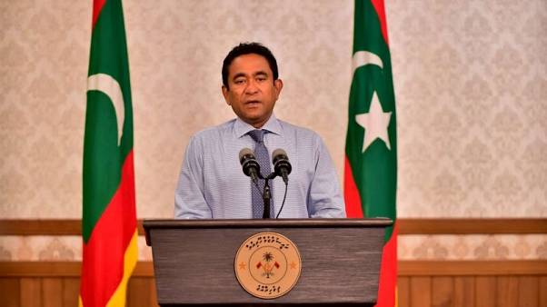 Defeated Maldives leader's party asks to delay final vote results