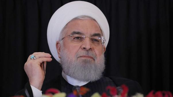 Rouhani says Iran does not wish to go to war with U.S. forces in the region